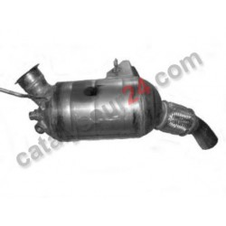 CATALYSEUR + DPF COMBINE BMW 320d 2.0 E90